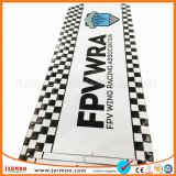 Bandeira feita sob encomenda do PVC da qualidade superior de cópia de cor cheia de Cmyk