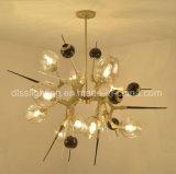 El más nuevo proyecto simple moderno del estilo que enciende la lámpara de interior decorativa de la lámpara de la bola de cristal