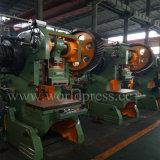 Máquina de perfuração Inclinable da potência mecânica de imprensa de perfurador do C-Frame de J23-100t