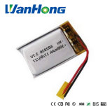 batteria di litio di 602030pl 300mAh 3.7V per Bluthtooth/GPS