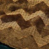 Связанная ткань Uphostery конструкции прокладки золота (BK502)