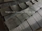 griglia lineare del collegare del cuneo del coperchio dello scolo dell'acquazzone dell'acciaio inossidabile di larghezza SUS304 di 74mm