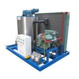 5ton/24hr escamas de Agua Dulce La Máquina de hielo Ice maker para supermercado
