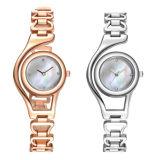 Браслет золотые часы для женщин Crystal Diamond верхней части марки женщина часы