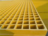 Plástico reforzado con fibra de FRP GRP Rejillas de fibra de vidrio