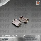 Cr2032 Doos BS-2032-8 van de Batterij van de Houder van de Batterij Au SMT