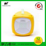 Lumière Emergency solaire rechargeable campante solaire portative de lanterne de la qualité DEL
