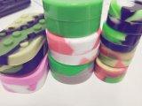 De zachte en Duurzame Containers van de Was van het Silicone Kosmetische