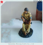 [نو برودوكت] راتينج دينيّ مذود تمثال صغير زخرفة راتينج تمثال