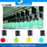 Lumière de Noël émettant des LED de couleur RVB Bille de levage