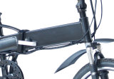 """セリウム20の""""隠されたリチウム電池が付いている電気バイクを折るアルミニウムフレーム"""