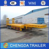 2017 Semi Aanhangwagen van het Bed van Lowbed van het Merk Chengda de Lage voor Verkoop