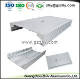 12 ans aluminium extrudé anodisé radiateur audio pour voiture avec la norme ISO9001