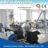 Plastique de grande capacité réutilisant la machine de granulation, extrudeuse de granule de PVC