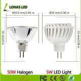 세륨을%s 가진 110-240V GU10 AC/DC 12V MR16 7W LED Spotlight