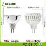 Haut Lumen GU10 7W à LED blanche à l'intérieur spotlight ampoule lampe