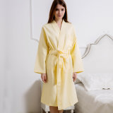 Bathrobe relativo à promoção do hotel/os Home pijama/Nightwear de Terry do Waffle/do algodão/