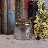 Populäre Form-Glaskerze-Halter mit eindeutigem Ende