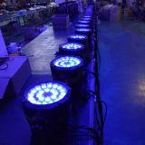 La pared exterior resistente al agua de lavado PAR LED DMX 512 puede