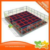 Grande base di /Trampoline della sosta del trampolino di sicurezza con la rete di sicurezza