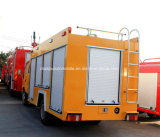 a espuma do tanque de água de 4X2 Isuzu extingue o caminhão de petroleiro da luta contra o incêndio