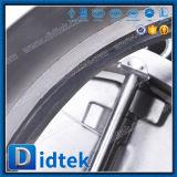 L'acciaio inossidabile 4A di Didtek l'api 6D si raddoppia valvola di ritenuta della cialda del piatto