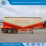 중국제 대량 시멘트 패킹을%s 반 탄소 강철 유조선 트레일러
