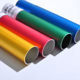 La costumbre y tubo de aluminio extruido estándar