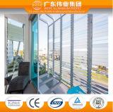 Precio de aluminio del vidrio 4m m 5m m 6m m de la lumbrera de la venta caliente