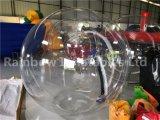 bola que recorre del agua inflable del PVC de 0.9m m/bola corriente inflable para la venta