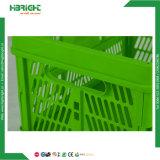 Bunter zusammenklappbarer faltbarer Wäscherei-Speicher-Plastikkorb