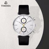 Los hombres reloj cronógrafo minimalista Day Date reloj de pulsera 72941
