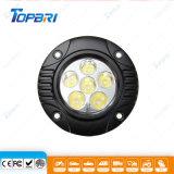 4.5Inch 18W КРИ раунда рабочая лампа LED рабочего освещения