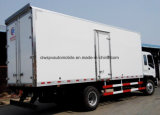 Isuzu 4X2 6の車輪の生鮮食品の輸送のトラック冷やされていたトラック8トンの