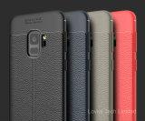 2018 Samsung 은하 S9를 위한 새로운 디자인 가죽 패턴 TPU 케이스