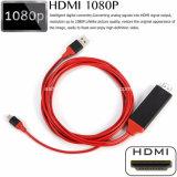 Pin высокого качества 8 2m к кабелю переходники HDMI HDTV AV для iPhone
