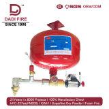 Popular mercado de venta Electromaganetic 10-40L FM200/HFC227ea dispositivo extintor de incendios
