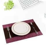 Écologique en caoutchouc de silicone résistant à la chaleur de la coupe du tapis de table, Mat, tapis de salle à manger, caboteurs, lieu mat pour la maison ou le restaurant.