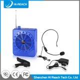Активно голубой миниый беспроволочный портативный диктор Bluetooth