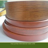 Alta fascia di bordo di legno lucida del PVC del grano per la mobilia
