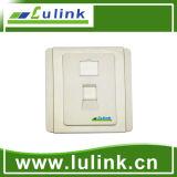 Mejor precio de 4 puertos de salida de la información de la placa 120 toma de pared