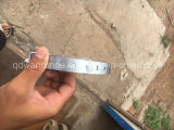 3/4 '' di cinghia del gancio del tubo galvanizzata 28ga di X 100 '