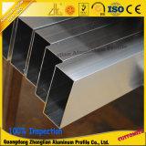 6000series rundes/Quadrat anodisiertes Aluminiumgefäß-Aluminium-Rohr