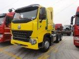 Sinotruk HOWO A7 트랙터 트럭 6X4 트랙터 헤드 420HP 원동기
