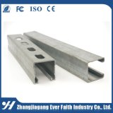 ハングの電流を通された鉄骨構造のシート材料Cチャネル