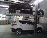 Подъем автомобиля стоянкы автомобилей 4 столбов сразу фабрики Китая миниый поднимаясь