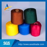 Hilados de polyester del hilado de la mano de la fábrica de China de la alta calidad que hacen punto