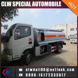 Camion di consegna del combustibile, camion di rifornimento di carburante, camion del serbatoio dell'olio 8cbm da vendere