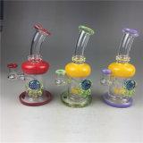 Tabak-Rohr-Glasaschenbecher-Borosilicat-Glas-Handpfeife