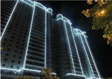 옥외 건축 계획을%s IP 65 둥근 LED 네온 코드